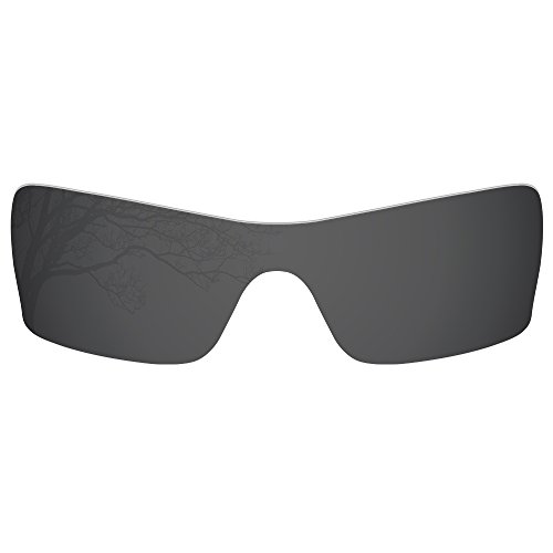 Dynamix Polarized Replacement Lenses for Oakley Batwolf - Multiple Options (Solid Black, Polarized Enhanced) by Dynamix