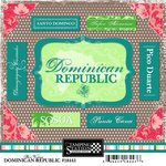 Scrapbook Customs - World Collection - Dominican Republic - Cardstock Stickers - Bon Voyage