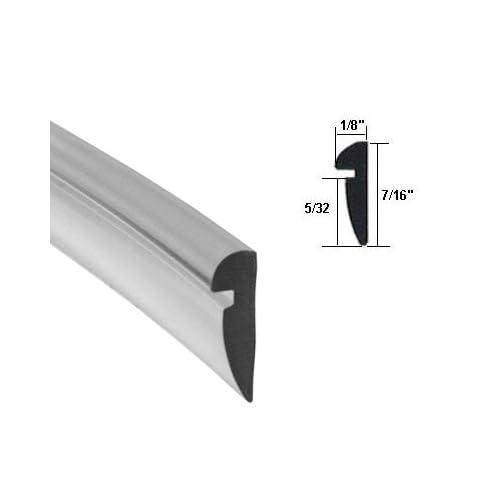 """100 ft Roll Gray 5//32/"""" Wide Glazing Spline"""