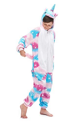 Yutown Kids Unicorn Costume Animal Onesie Pajamas