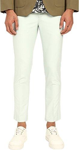 Marc Jacobs Mens Matte & Shiny Suiting Pants Mint 56 (US 40) 30 30 Marc Jacobs Men Pants