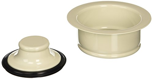 Keeney K5417BSQ Garbage Disposal Flange and Stopper, (Kitchen Fixture Bisque)