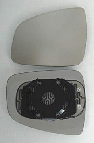Espejo Cristal Espejo Derecho Calentado para Espejo Exterior El/éctrico y Manual Ajustable Apropiado