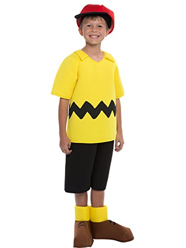 Snoopy Costumes Kids - Charlie Brown Boys Costume Size