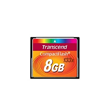 Transcend TS8GCF133-8GB - Tarjeta Flash compacta (133 X ...