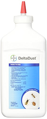Delta Dust Multi Use Pest Control Insecticide Dust, 1 LB ()