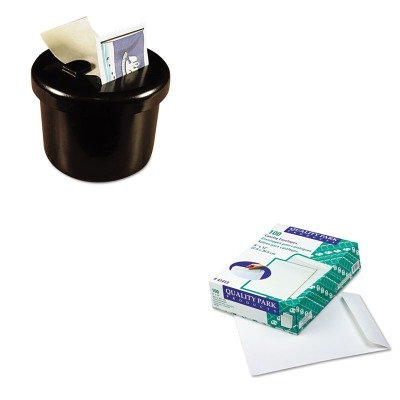 KITLEE40100QUA41413 - Value Kit - Quality Park Catalog Envelope (QUA41413) and Lee Ultimate Stamp Dispenser (LEE40100)