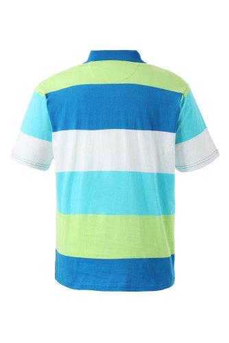 JP 1880 Herren Halbarm-Poloshirt, 69040471, blau, XL