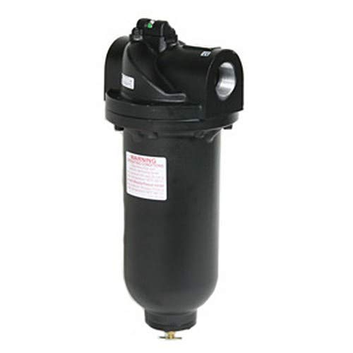 2 NPT Aluminum Body and Bowl 32 Degree F to 150 Degree F Midwest Control MCWM35-200 Jumbo Coalescing Filter 0.01 Micron Element 710 SCFM