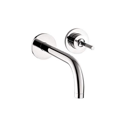AXOR AXOR Uno  Modern 1-Handle  4-inch Tall Bathroom Sink Faucet in Chrome, 38118001
