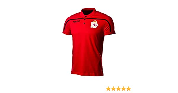 Macron RC Deportivo La Coruña 2018-2019, Polo, Red-Black, Talla M ...