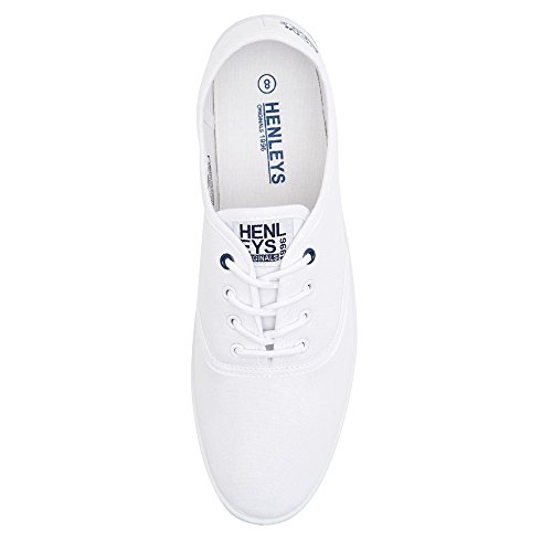 Foundation Milo White Canvas Shoes Men's Quiksilver KRMSL373 B87w5FS