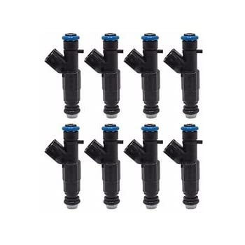 *Best Upgrade* Flow-Matched Bosch Set of 8 Fuel Injectors for Ford 0280158138