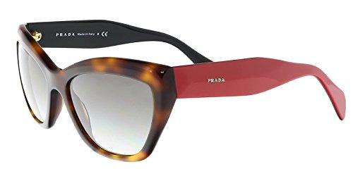 Prada Women 02QS TKR0A7 Tortoise Cats Eyes Sunglasses - Sunglasses Cat Eye Prada