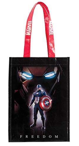 Rubies Costume Captain America Civil War Trick or Treat Canvas Bag(2-Pack)]()