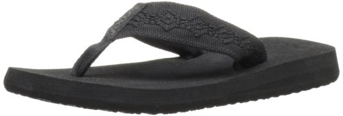Reef Sandy Flip Flop - Women's Black/Black, 7.0