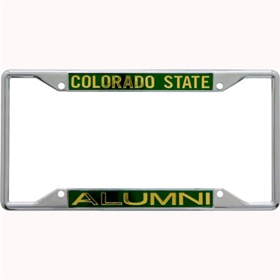 NCAA Colorado State Rams License Plate Frame Alumni by Stockdale