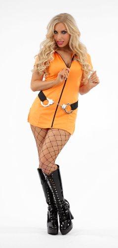 with Prisoner Costumes design. Prisoner Jailbird Female Fancy Dress ...  sc 1 st  Costume Overload & Affordable Prisoner u0026 Felon Uniform Costumes for Women