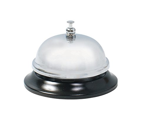 Baumgartens Desktop Call Bell 1 Each Chrome (Pack of 48) (43060) by Baumgartens