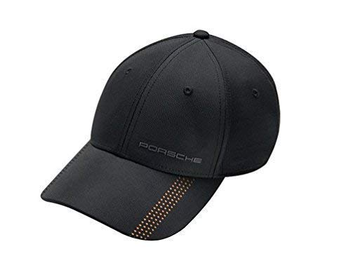 Porsche Genuine 911 Honeycomb Black Baseball Cap