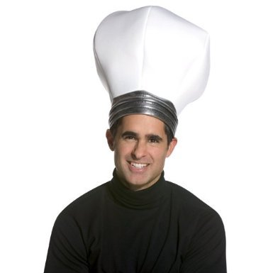 Lightbulb Costumes (Rasta Imposta Light bulb Hat, White, One Size)