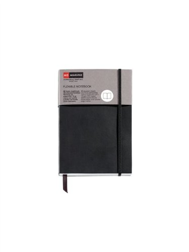 Miquelrius 1425Notebook Flexible Black Candy Colours Classic Flat with by Miquel Rius