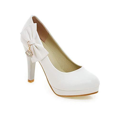 BalaMasa APL10524 Blanc 5 36 Femme Blanc Plateforme rr0xCwqA