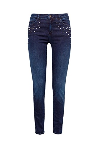 Mujer Para Wash blue Dark Slim Collection Azul 901 Esprit Vaqueros wqI1w