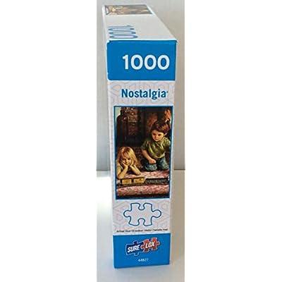 Firelight Express - 1000 Piece Nostalgia Jigsaw Puzzle: Toys & Games