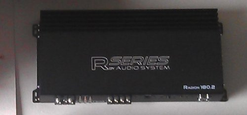 Audio System Radion 180. 2 2 Channel Amplifier