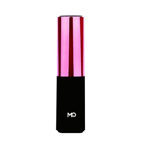 External Battery MQ Lipmax 2400mAh Power Bank Lipstick Portable Charger for iPhone,iPad,Samsung Galaxy&More-Ultra Compact (Pink Manve)