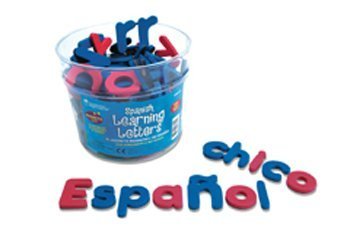 4 Pack LEARNING RESOURCES SPANISH MAGNETIC FOAM LEARNING by Learning Resources (Image #1)