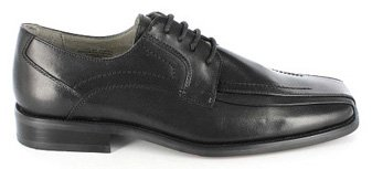 Chaussure À Lacets En Cuir Noir Corrado Stacy Adams Mens 23274 (7.5 W, Noir)