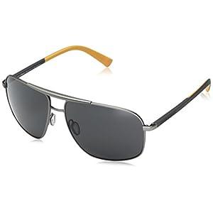 D&G Dolce & Gabbana Women's 0dg2154 Square Sunglasses, Gunmetal Rubber, 61 mm