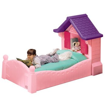 Amazon.com : Little Tikes Cozy Cottage Bed with Toddler Mattress :