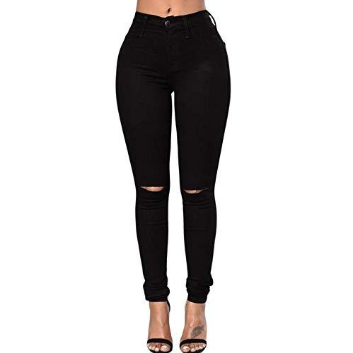 Pantalones De Color Sólido De Las Mujeres Pantalones ...