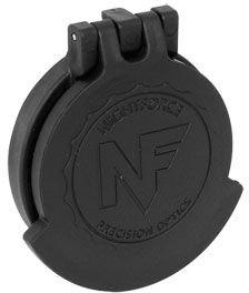 NightForce Riflescope Objective Flip-Up Lens Caps, 50mm NXS, Black, 50mm by Nightforce