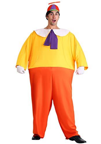 Adult Tweedle Dee/Dum Costume Standard Red,Yellow ()