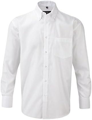Camisas SIN PLANCHA NON IRON Russell Collection Blanca Talla L (41-42) MANGA LARGA 100% ALGODON: Amazon.es: Ropa y accesorios