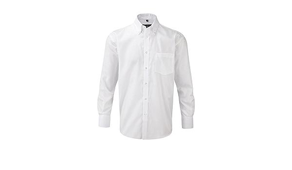 Russel Europe - Camisa de manga larga para hombre: Amazon.es ...