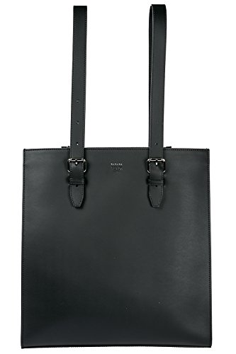 Fendi men's leather bag handbag tote shopping black Fendi Black Bag