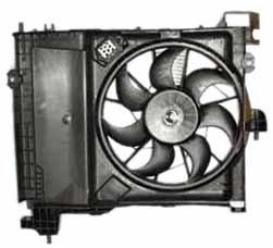 TYC 610830 Dodge Durango Replacement Condenser Cooling Fan Assembly