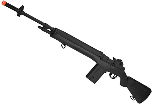 450 Fps Airsoft Type - Evike CYMA Full Size M14 Airsoft AEG Rifle - Black - (31855)