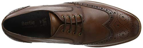 Packman Scarpe Bertie Tan Leather Tan Leather Marrone Brouge Uomo Stringate dR55q