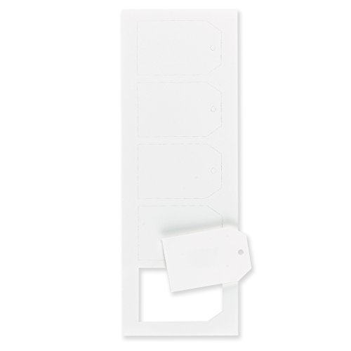 """Fine Impressions Party/Gift Tags, 2.875"""" x 1.875"""" Hi-Whit..."""