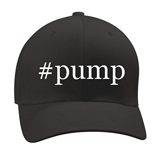 #Pump - A Nice Hashtag Men's Adult Baseball Hat Cap, Black, Large/X-Large