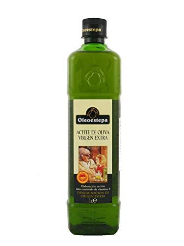 (Oleoestepa Hojiblanca Spanish Extra Virgin Olive Oil   2018 Harvest  1 Liter PET (33.8oz) )