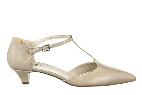 Modische Ballerinas Flache Schuhe aus Leder Damen RIPA shoes - 50-03050