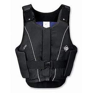 Charles Owen Dover Saddlery JL9 Body Protector- Small-Medium, Size Small, Black