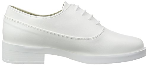 Jonny`s Vegan Nahimana, Women's Oxfords White - Weiß (Blanco)